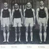 1922: Pennsylvania's world championship two-mile relay team.